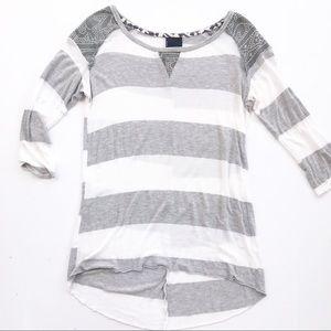 Anthropologie Dolan Shirt Top XS Womens stripe